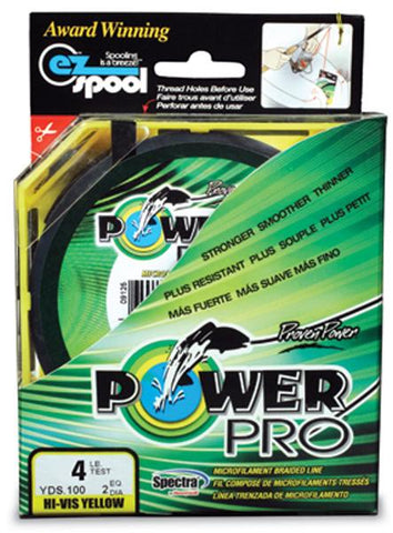 Pwr Pro 200# 1500yd Yellow