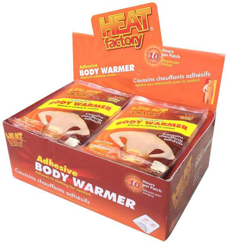 Heat Fact Adh Body Warmer 1pk 10hr