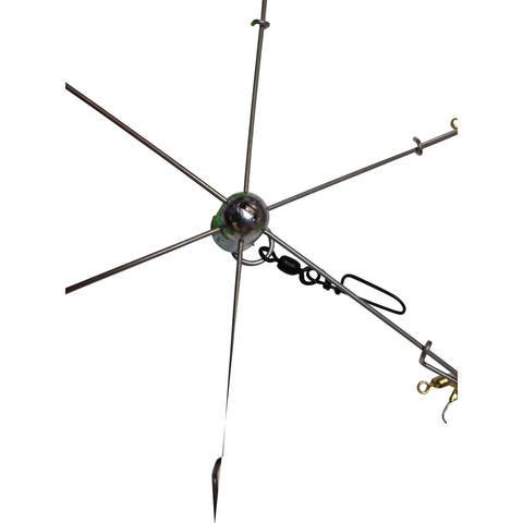Umbrella and Dredge Teaser Frames, 6-Arm - Reel Draggin' Tackle - 1