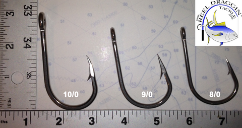 Stainless Steel Southern and Tuna Hooks - Reel Draggin' Tackle - 1