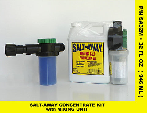 Marine Corrosion Protection 32OZ SPRAY SALT AWAY COMBO W/MIXER - Reel Draggin' Tackle