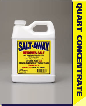 SALT-AWAY CONCENTRATE 32 Oz REFILL (WITHOUT MIXING UNIT) - Reel Draggin' Tackle