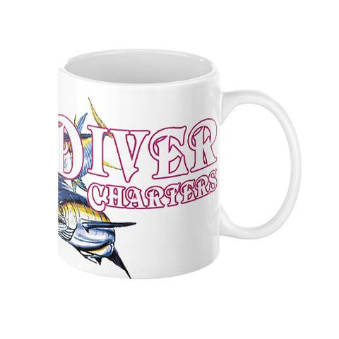 Coffee Mug  Reel Draggin' Tackle