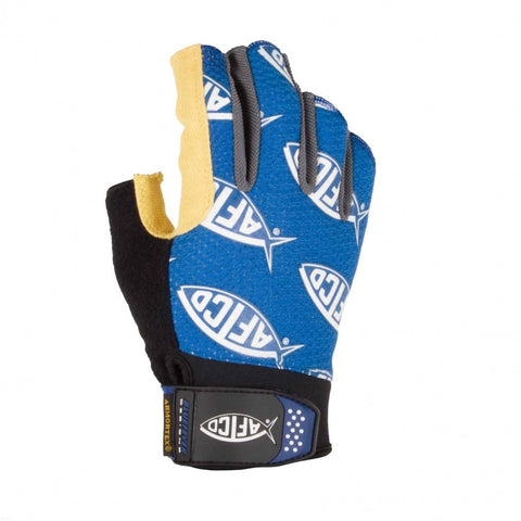 Short Pump Long Range Fishing Gloves, AFTCO - Reel Draggin' Tackle - 1