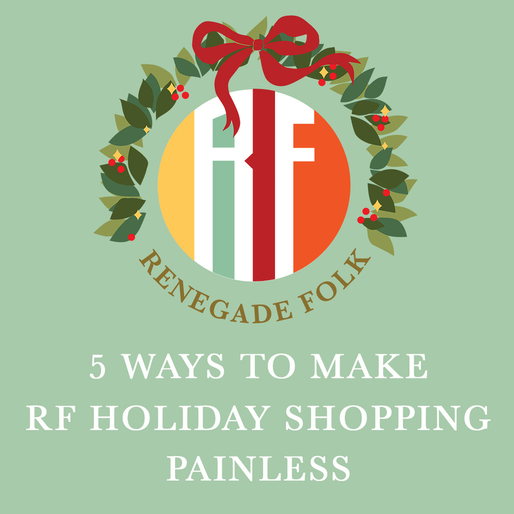 Five Ways to Make Holiday Shopping Painless
