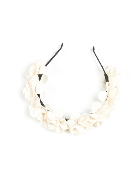 Juliet Ivory Flower Hairband