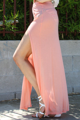 Beach Maxi Skirt with Two slits Second