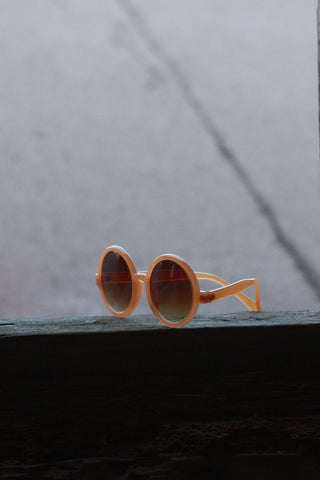 Eye Candy Sunglasses - Vintage Brown Second