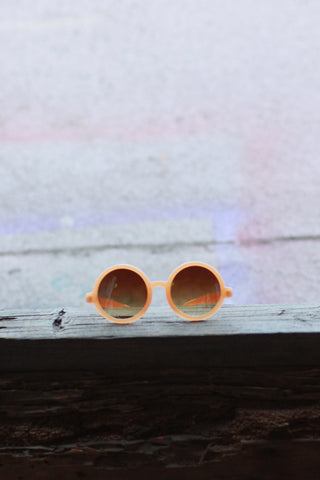 Eye Candy Sunglasses - Vintage Brown