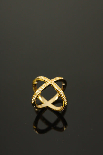 Double Helix Ring