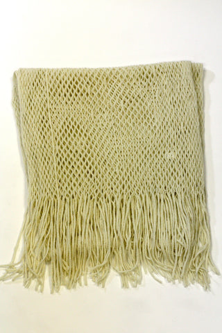 Extremely Light & Soft Scarf with Fringed Edges Second