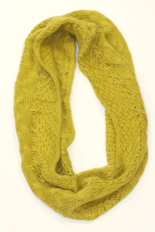 Infinity Warm Scarf - Mustard Second