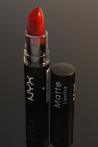 NYX Matte Lipstick-Perfect Red