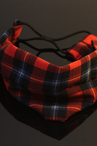 Red Plaid Hairband Second