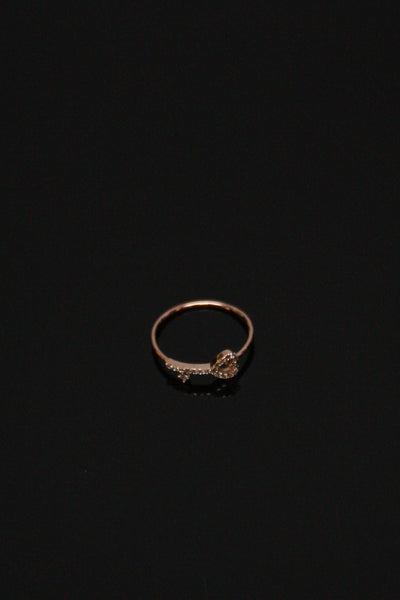 Key to my Heart Ring - Rose Gold