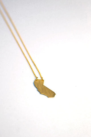 California Necklace - Gold Second