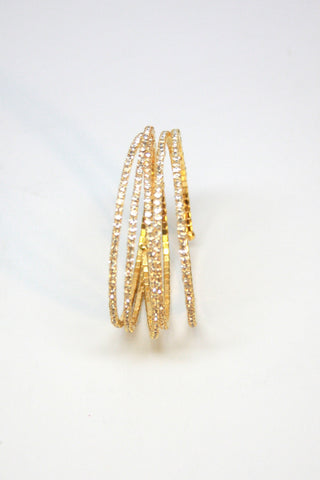 Gold Wrap Around Bracelet