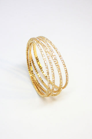 Gold Wrap Around Bracelet Second