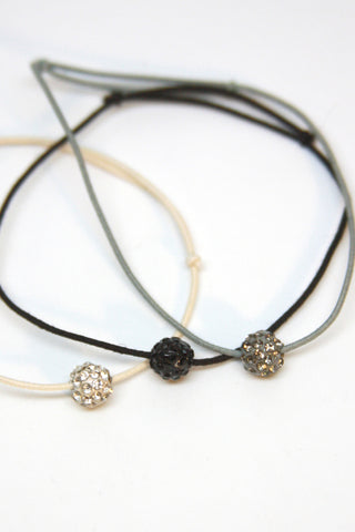 Circle Gem Trio Bracelets Second