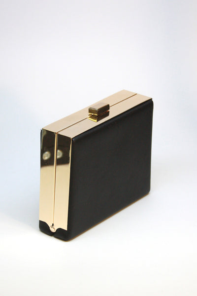 Don't be a Square Clutch-Black