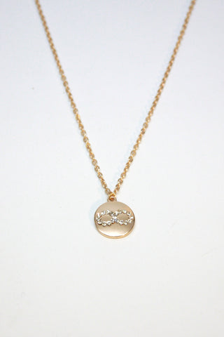 Infinity Rhinestone Necklace Second