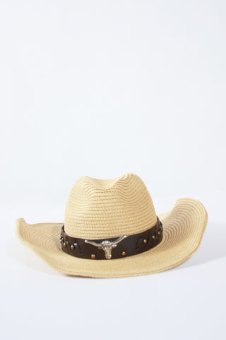 Coachella Cowboy Hat-Tan Second