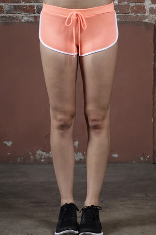 Neon Coral Training Short