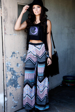 Tribal Palazzo Pants Second