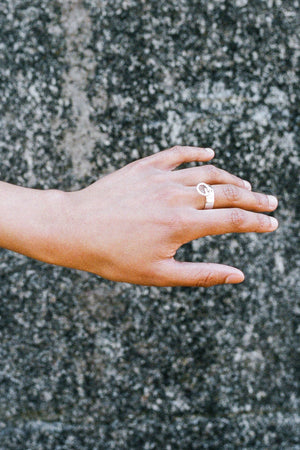 Divinity Ring | Sterling Silver