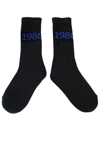 1986 Socks | Black / Blue