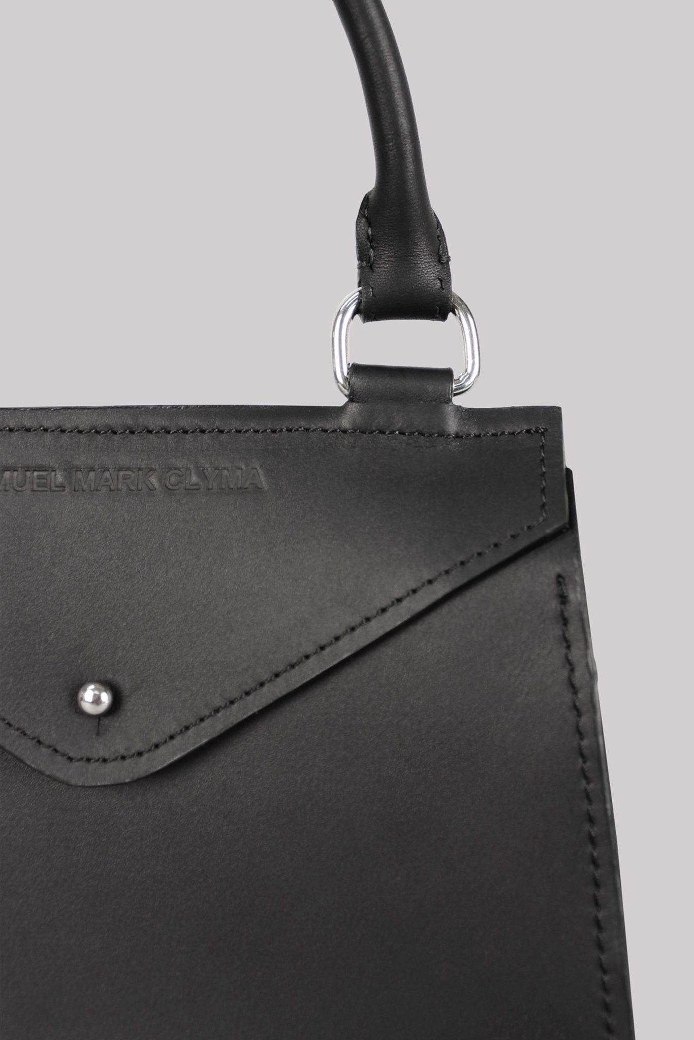 Little Edie Bag | Leather | Black