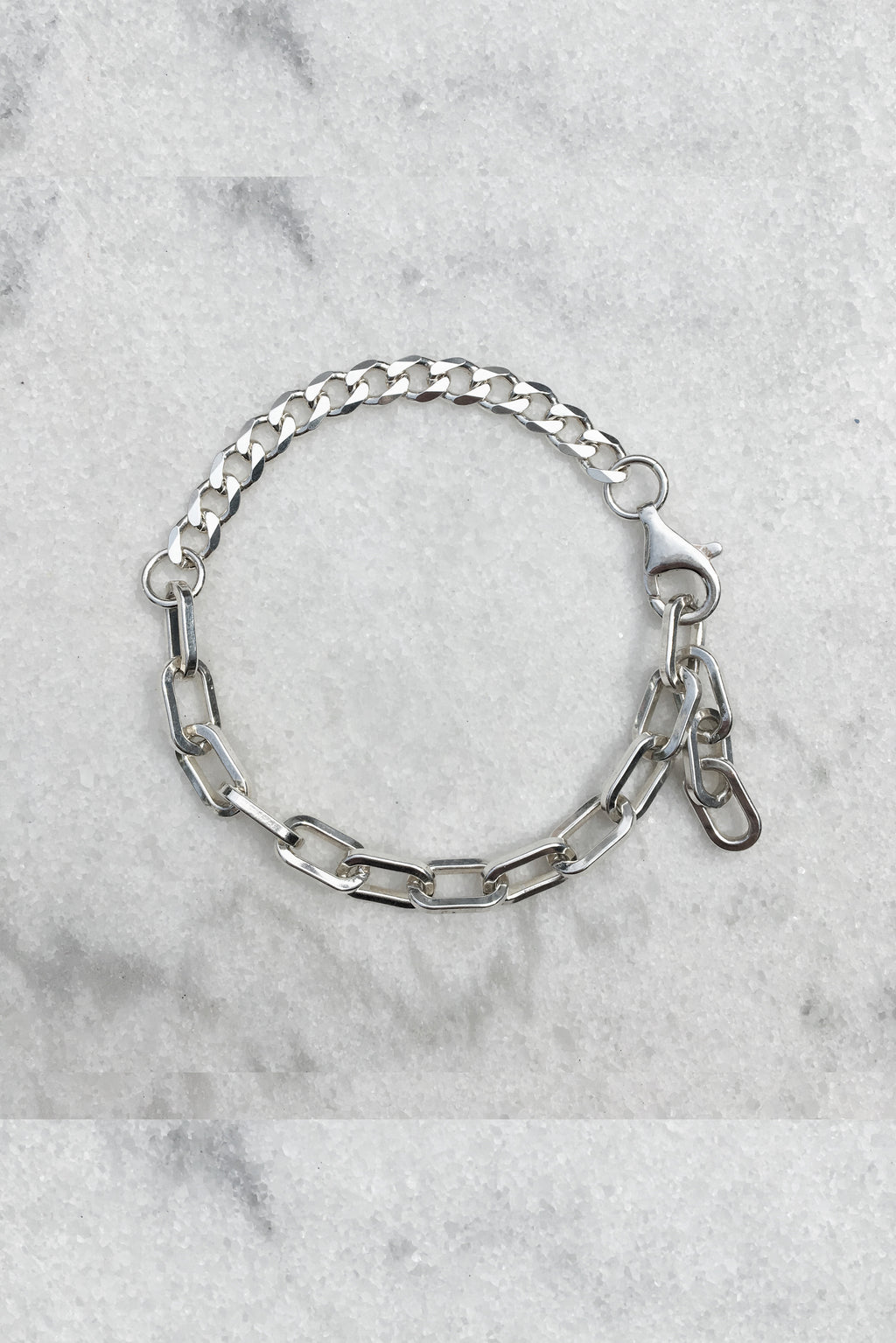2 Chain Wrist Piece | Sterling Silver
