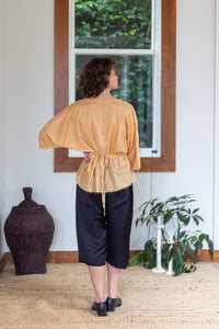 Musubi Top | Cotton | Tan