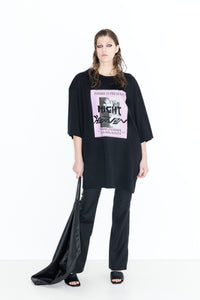 Kaboom | Cotton Tee Shirting | Black Best Show Never Print