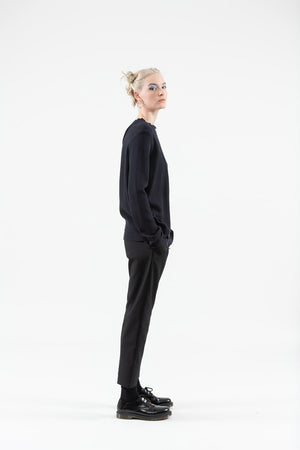 Suitable Trouser | Wool | Black