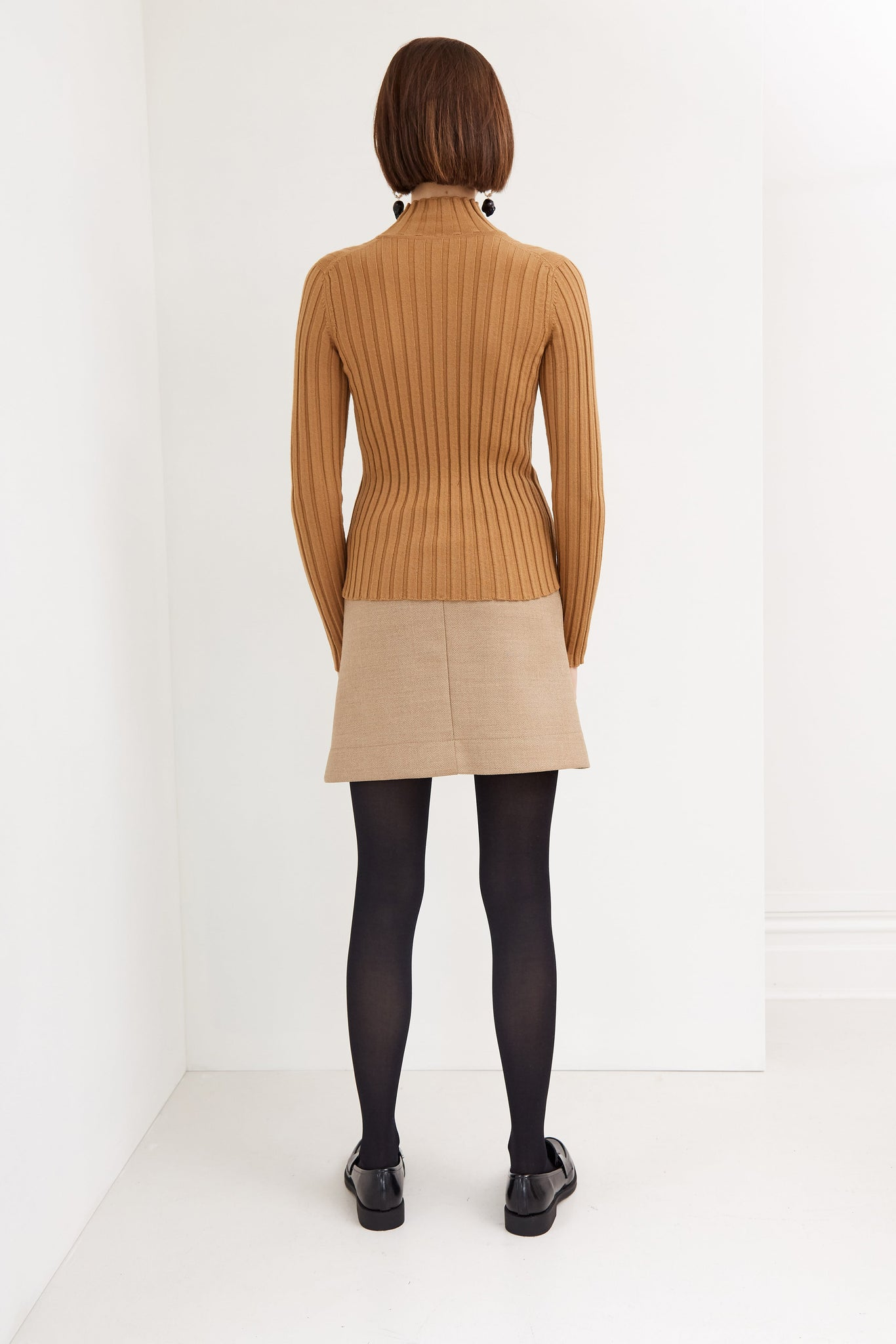 Autumn Knit | Merino Wool | Toffee