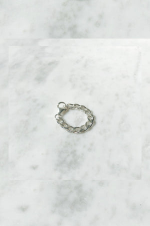Charlie Chain Ring | Sterling Silver