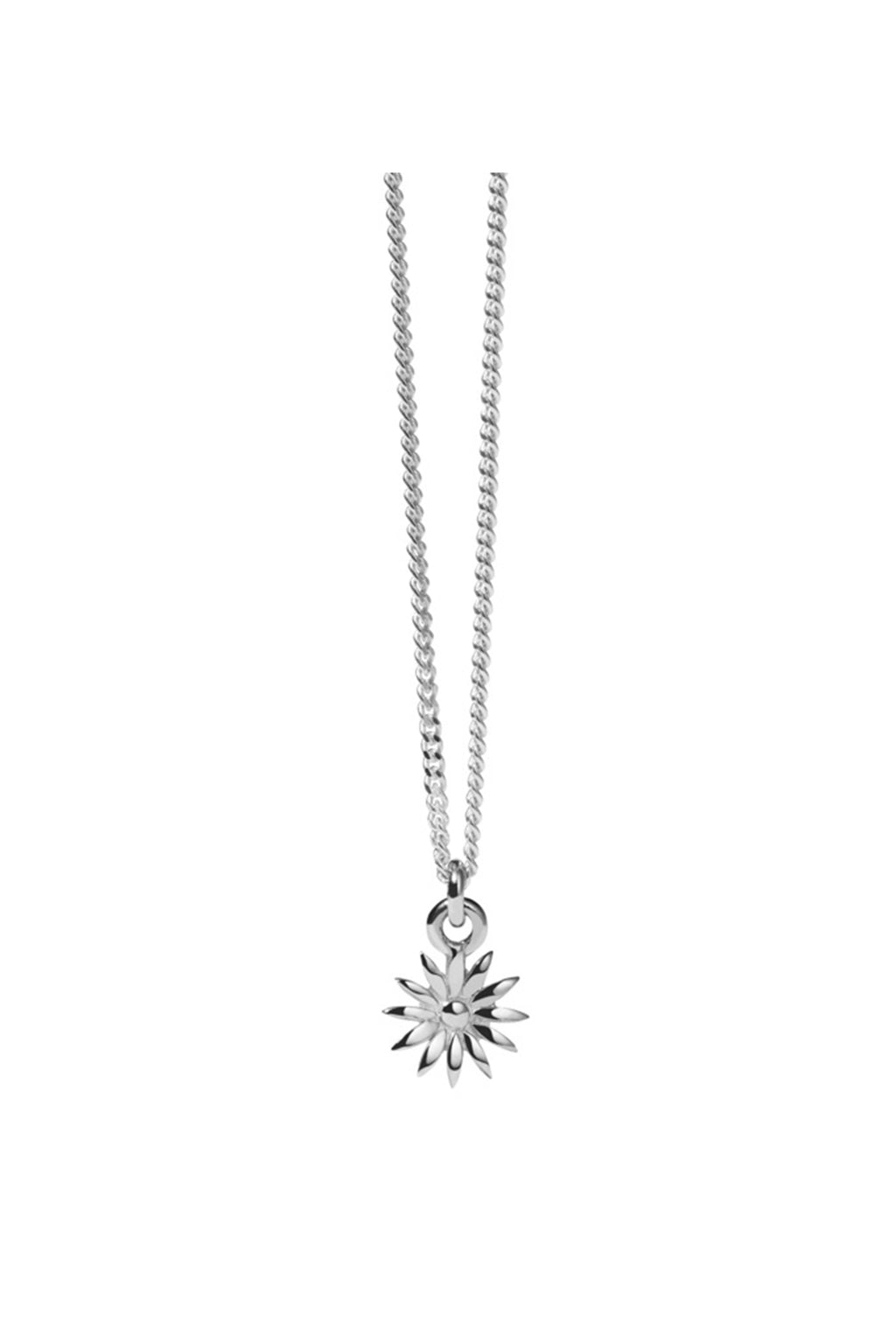Dazed Charm Necklace | Sterling Silver
