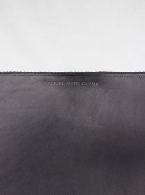 Fabulous Darling Clutch | Leather | Black