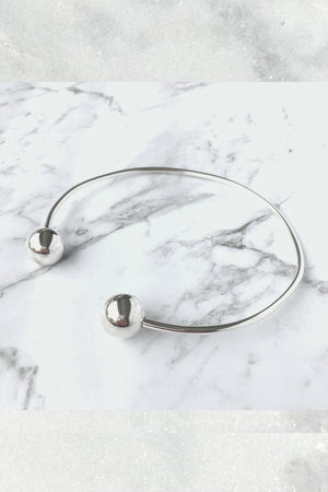 Keith Flint Choker | Sterling Silver