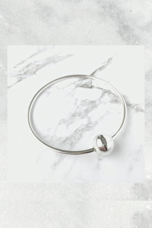 Liam Howlett Bangle | Small/Medium | Sterling Silver