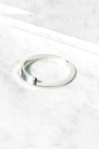Nancy Spungen Closed Twinset Bangle | Sterling Silver