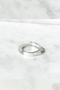 Nancy Spungen Twinset Ring | Sterling Silver