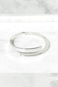 Nancy Spungen Twinset Bangle | Sterling Silver