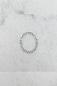 Petite 2 Chain Ring | Sterling Silver