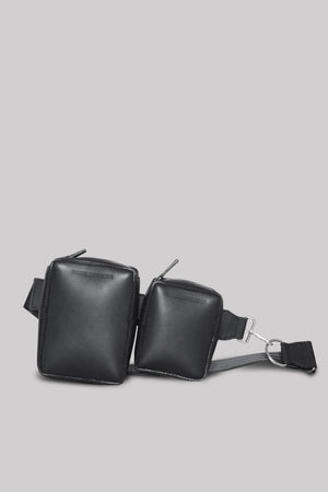 Major Double | Leather | Black