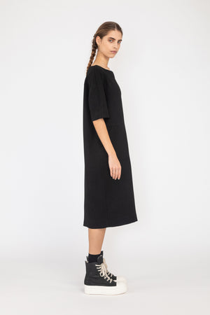 Draft Dress | Japanese Twill | Black