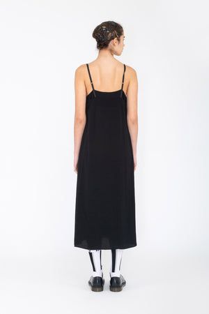 Levels Slip | Viscose Crepe | Black