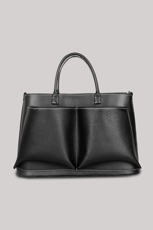 Serious Business Only  | Leather |  Black