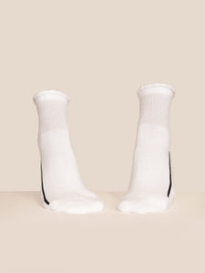 Socks | Cotton Lurex | White Sparkle